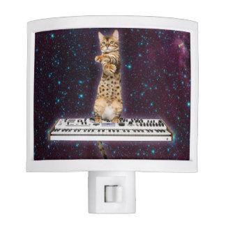keyboard cat - funny cats  - cat lovers night lights