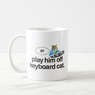 keyboard cat go mug