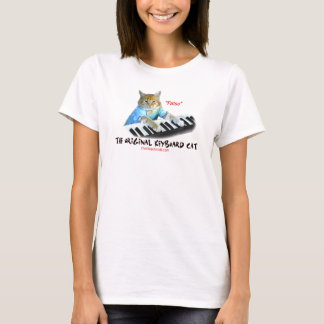 keyboard Cat  lady shirt