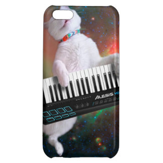Keyboard cat - space cat - funny cats - galaxy cat cover for iPhone 5C