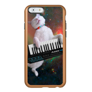 Keyboard cat - space cat - funny cats - galaxy cat incipio feather® shine iPhone 6 case
