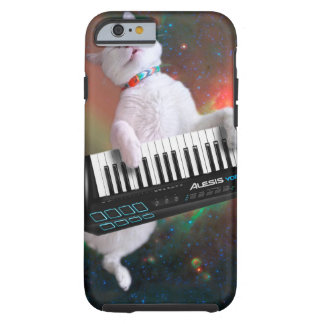 Keyboard cat - space cat - funny cats - galaxy cat tough iPhone 6 case