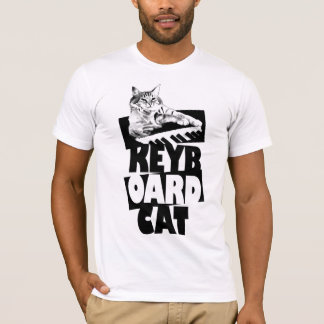 Keyboard Cat - Stacked Tee