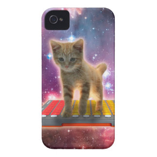 keyboard cat - tabby cat - kitty Case-Mate iPhone 4 cases