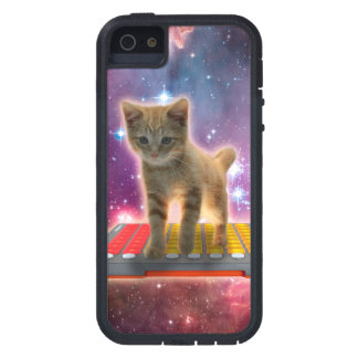 keyboard cat - tabby cat - kitty iPhone 5 cases