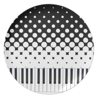 Keyboard Grunge Plate