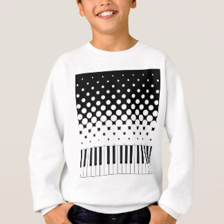 Keyboard Grunge Sweatshirt