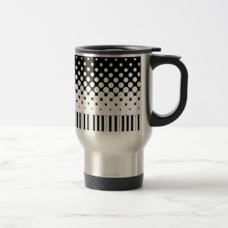 Keyboard Grunge Travel Mug