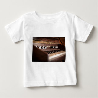 Keyboard Instrument Music Old Antique Poland Baby T-Shirt