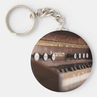 Keyboard Instrument Music Old Antique Poland Keychain