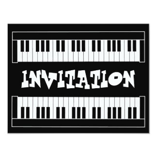 Keyboard Invitation