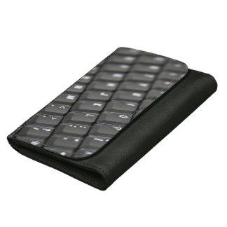 Keyboard Leather Wallet