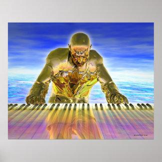 Keyboard Magic Poster