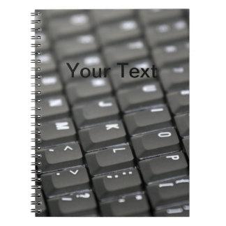 Keyboard Note Books