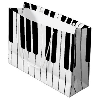 Keyboard Piano Organ Large Gift Bag