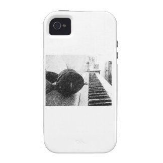 Keyboard Player Case For The iPhone 4