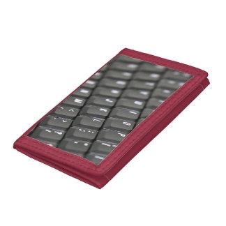 Keyboard Trifold Wallet