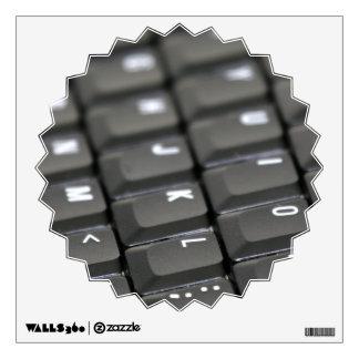 Keyboard Wall Sticker