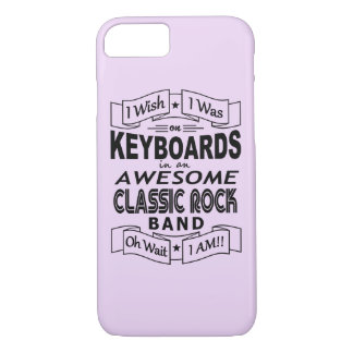KEYBOARDS awesome classic rock band (blk) iPhone 8/7 Case