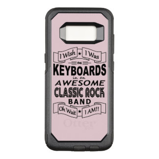 KEYBOARDS awesome classic rock band (blk) OtterBox Commuter Samsung Galaxy S8 Case