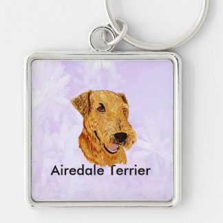 Keychain - Airedale Terrier