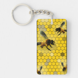 Keychain Bee Key Keeper