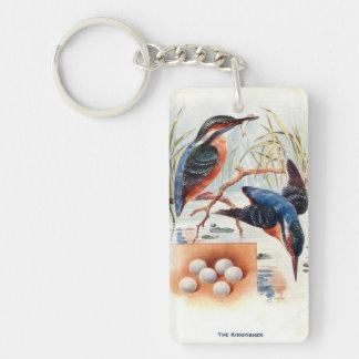 Keychain - British Birds - Kingfisher & Great Tits