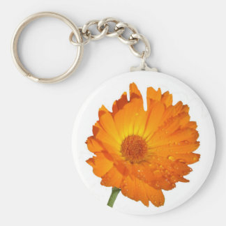 Keychain - Calendula  on stem