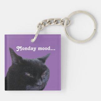 Keychain cat Monday mood by Billy Bernie