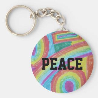 keychain de paix porte-clé