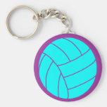 Keychain de volleyball porte-clé