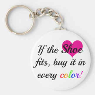 Keychain for the shoe lover