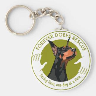Keychain Forever Dobes Logo