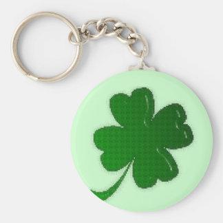 Keychain - Four Leaf Clover