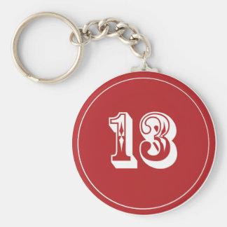 Keychain Lucky 13