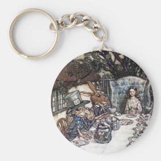 Keychain:  Mad Hatter Tea Party - by Rackham Keychain