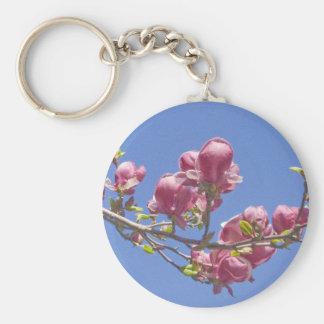 "Keychain, ""Magnolia Branch"" Keychain"