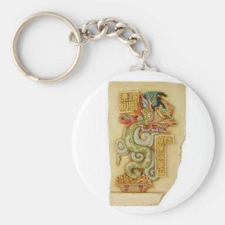 Keychain: Maya vision serpent Keychain