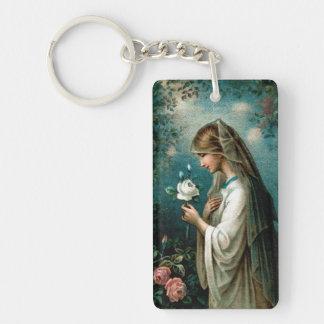 Keychain: Mystical Rose Keychain