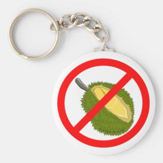Keychain - No Durian!!!