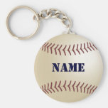 Keychain personnalisé par base-ball porte-clés