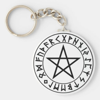 keychain Rune Pentacle
