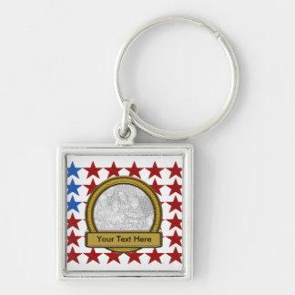 Keychain - USA Flag Stars