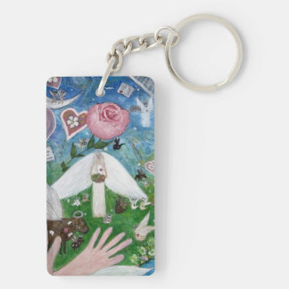 Keychain with Animals and Angels