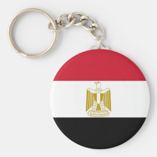 Keychain with Flag of Egypt