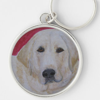 Keychain, Yellow Labrador Retriever Keychain