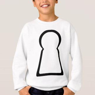 Keyhole-Hollow Sweatshirt