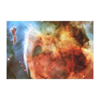 Keyhole Nebula Middle Finger of God Carina Nebula Canvas Prints