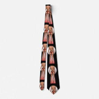 Keyhole Voyeur Neck Tie