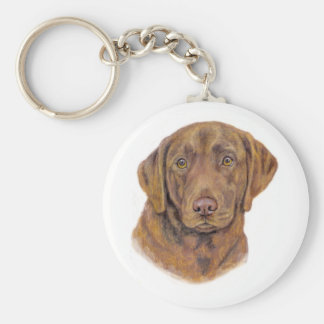 Keyring: Chesapeake Bay Retriever Keychain